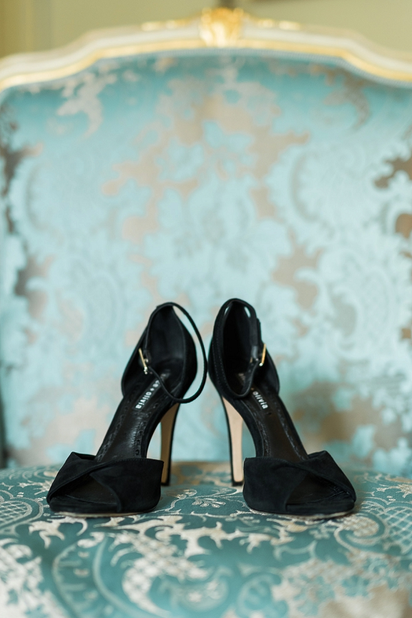 Alice + Olivia wedding shoes