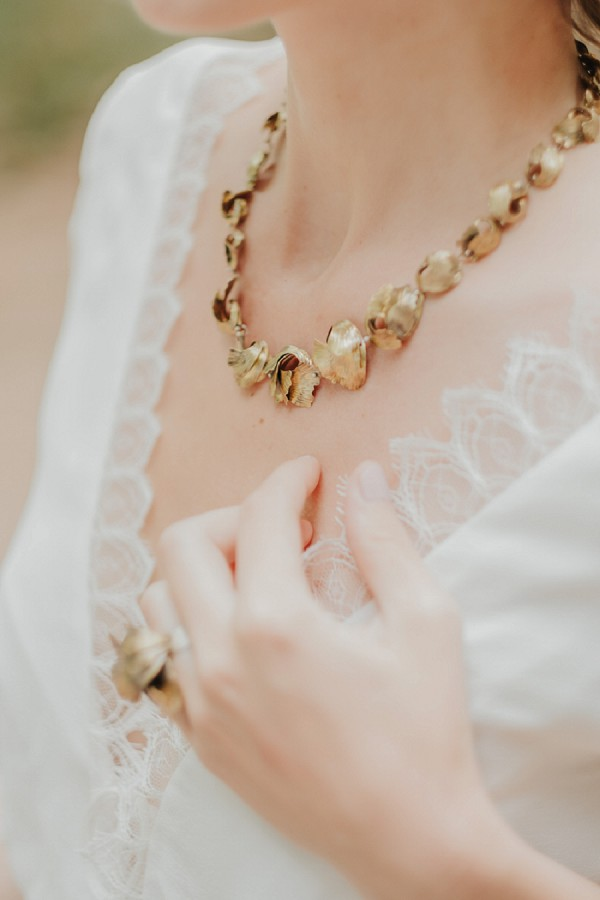 Aurélie Guillemain wedding necklace