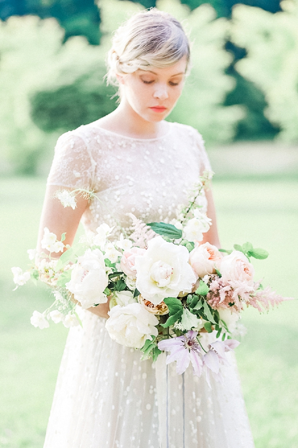 Bridal bouquet by Wild Blossom