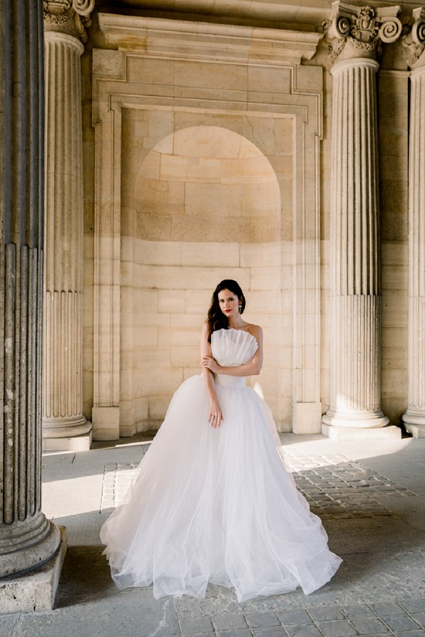 Bridal portraits Paris