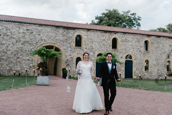 Chateau de Champlong Real Wedding