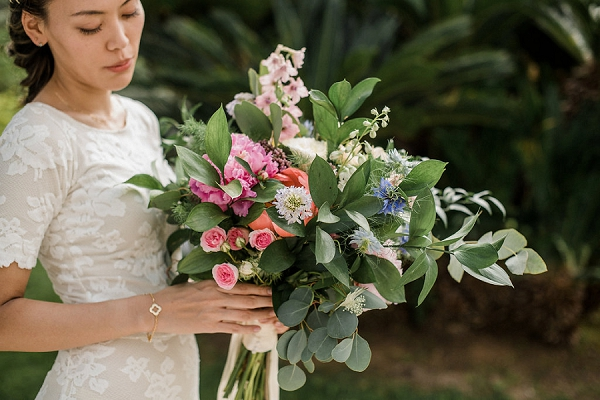 Cote D'Azur wedding florist