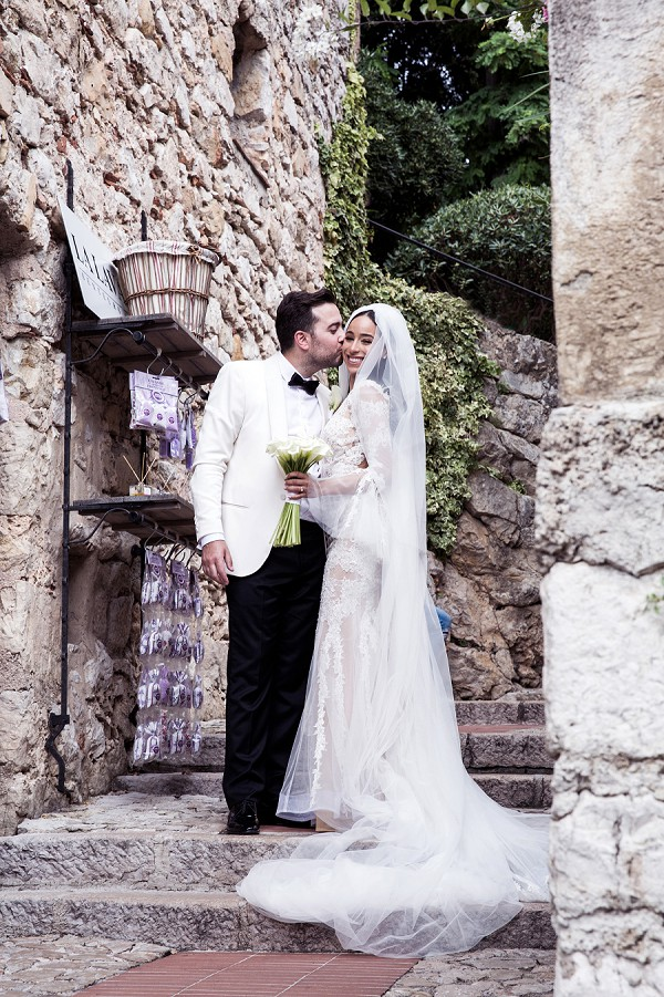 Cote D'Azur wedding portraits