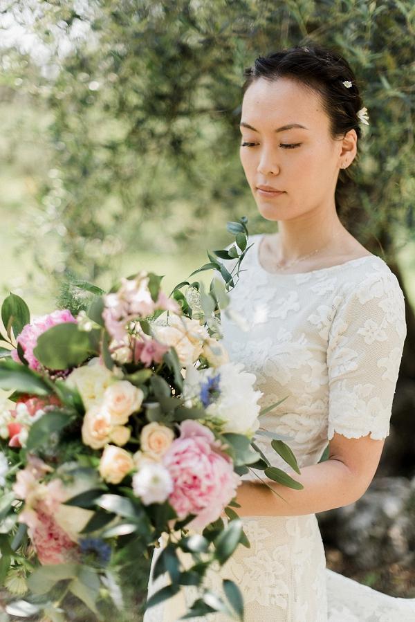 Deco et Harmonie bridal bouquet