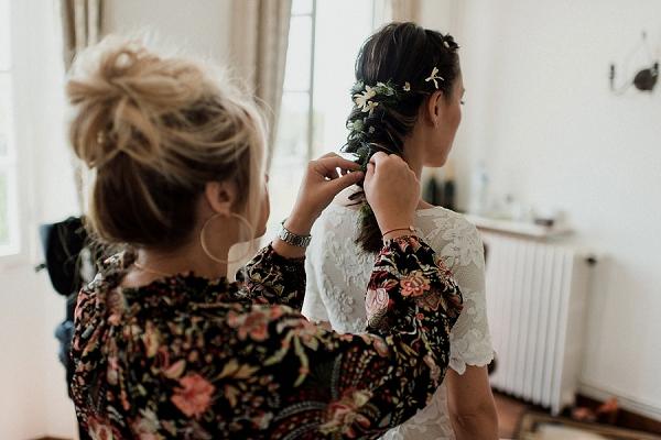 Domaine des Fleurs bridal suite