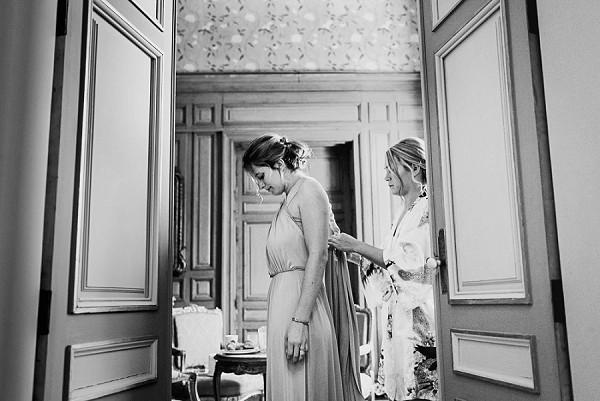Dordogne chateau bridal suite