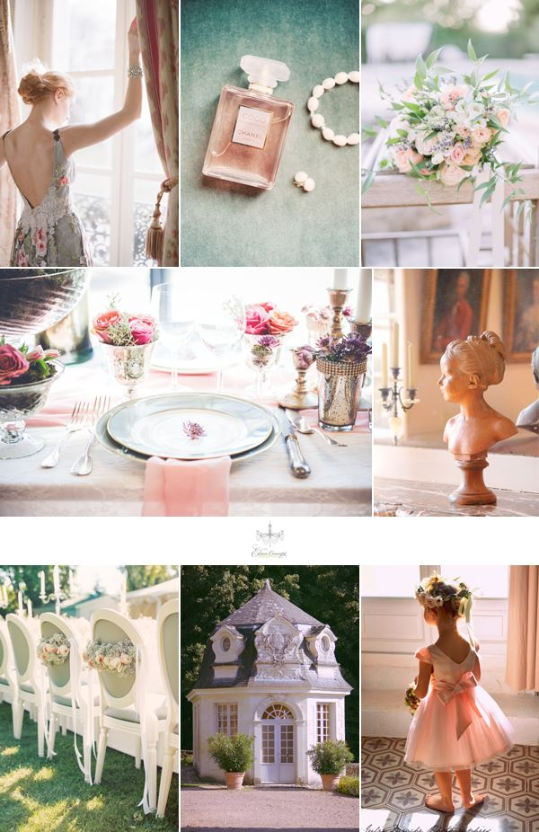 Elian Concept Weddings French Chateau Wedding Inspiration