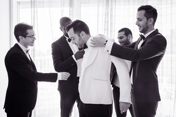 Ermenegildo Zenga grooms outfit