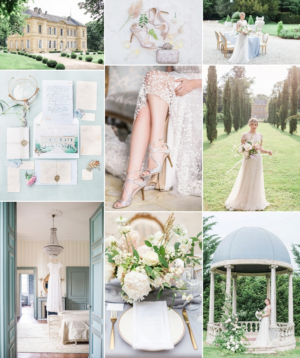 Fine Art Chateau La Durantie Wedding Inspiration Snapshot