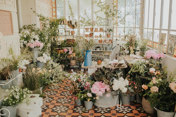 Floral Inspired Provence Wedding Inspiration
