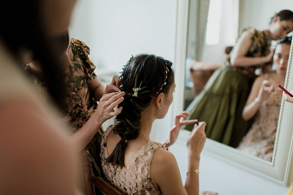 Jennifer Behr wedding hair accessories