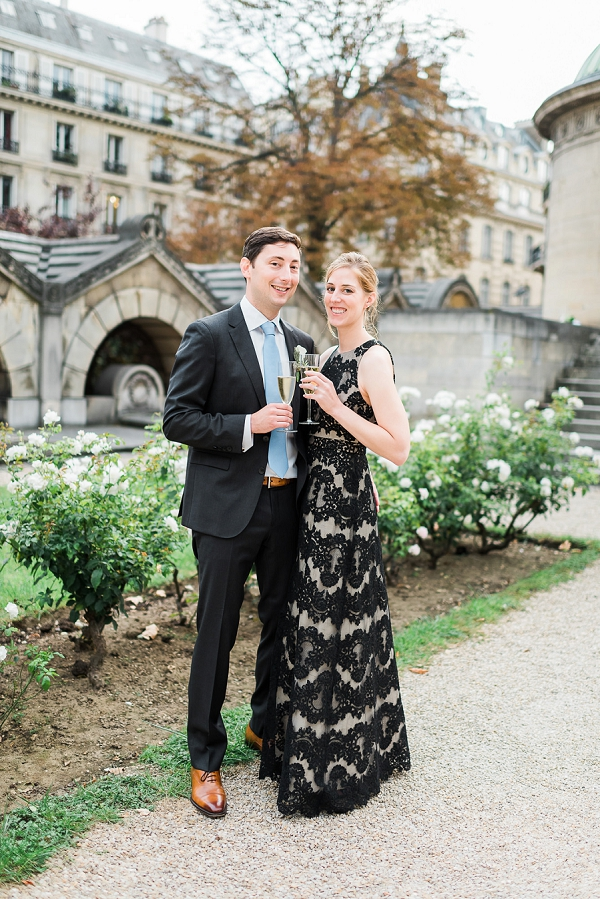 La Chapelle Expiatoire bride and groom portraits