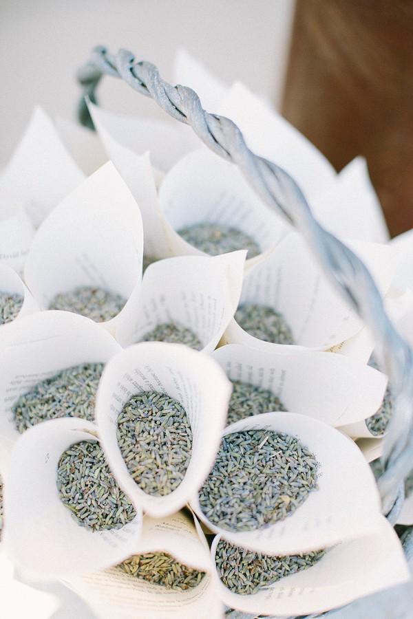 Lavender confetti ideas