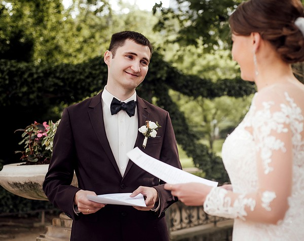 Luxembourg Gardens real wedding