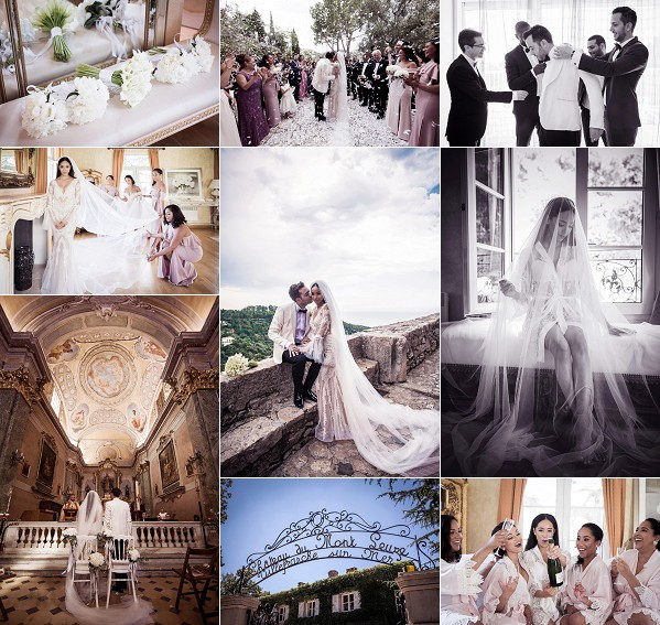 Luxury Domaine du Mont Leuze Real Wedding Snapshot