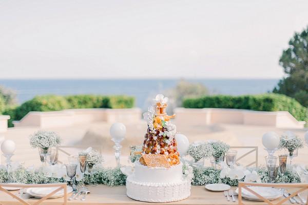 Marcel Ravin wedding cake
