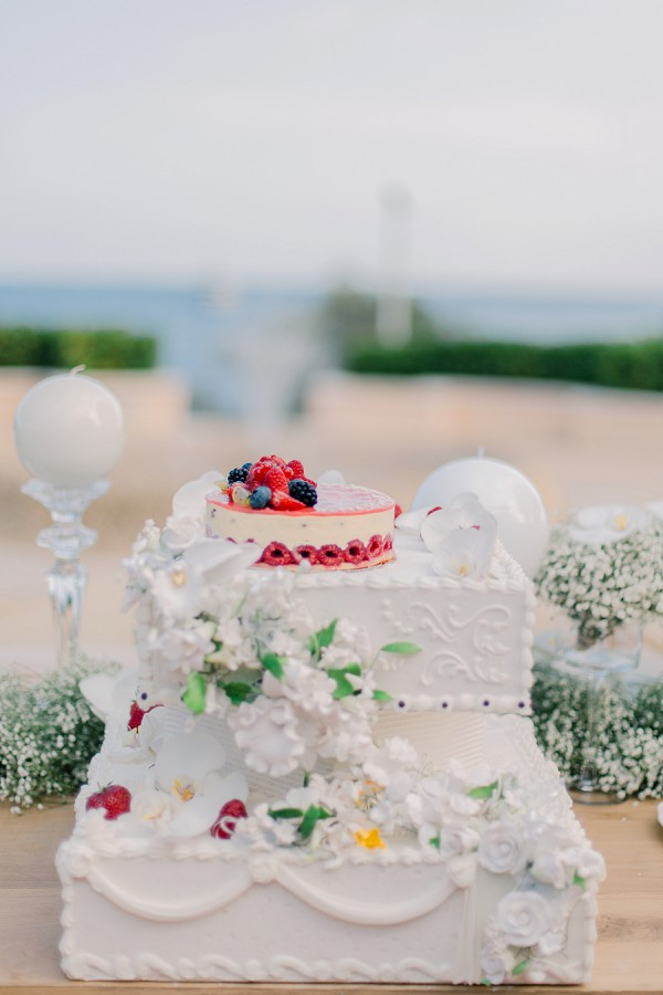 Monaco wedding cake