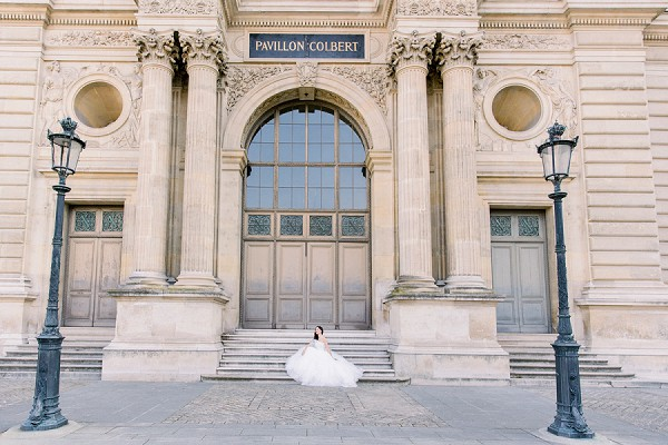 Paris bridal shoot