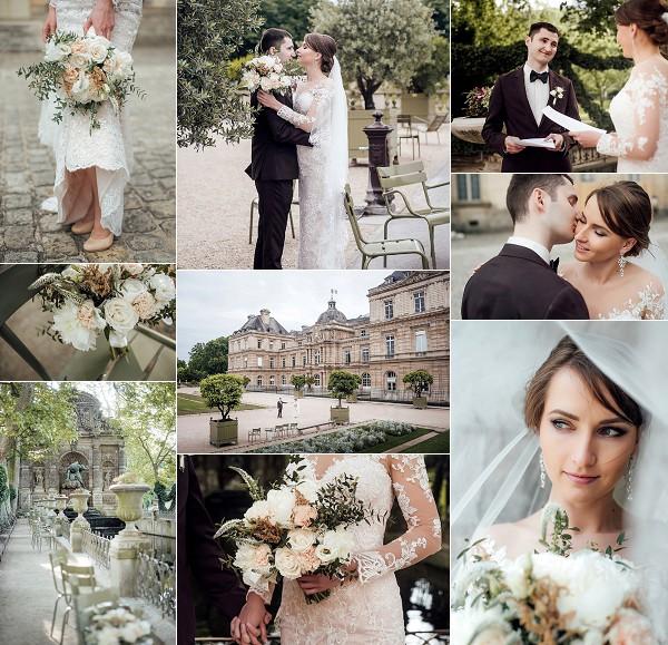 Parisian Elegance Real Wedding Snapshot