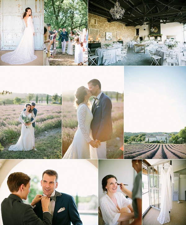 Provence Domaine de Patras Real Wedding Snapshot