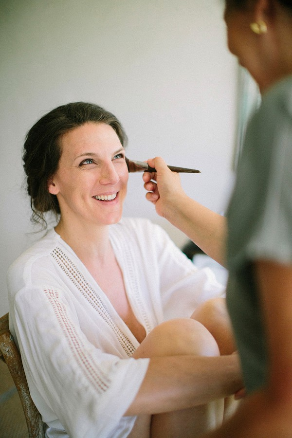 Provence wedding makeup artist