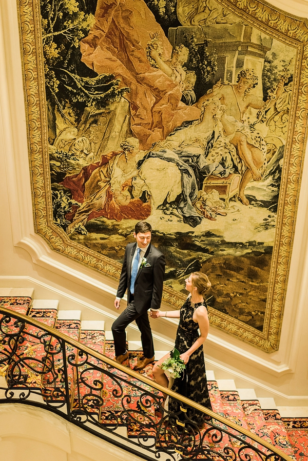 Ritz bride and groom portraits