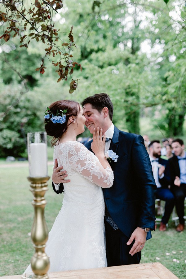 Romantic Chateau de Champlong Real Wedding