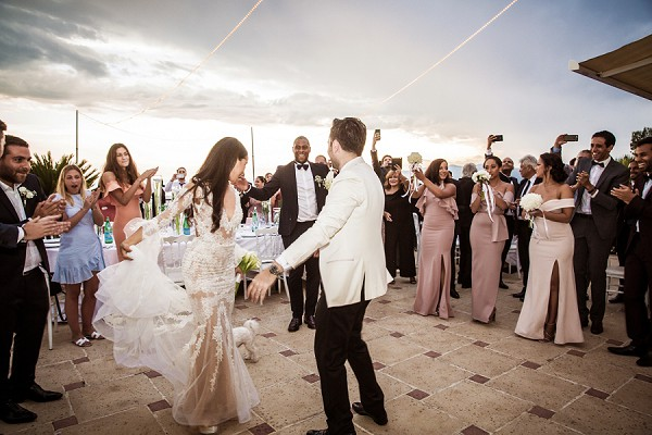 South of France outdoor first dance