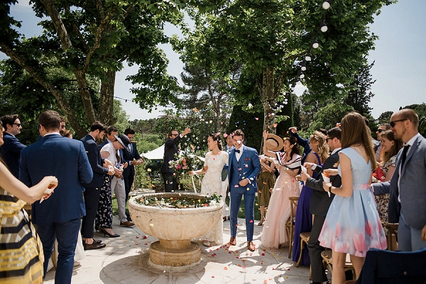 South of France wedding conffetti