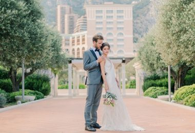 Stylish Monaco Wedding Inspiration Shoot