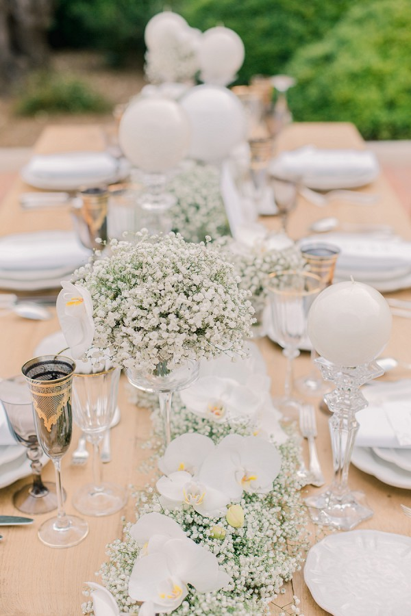Stylish Monaco Wedding decor