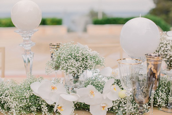 Stylish Monaco Wedding styling