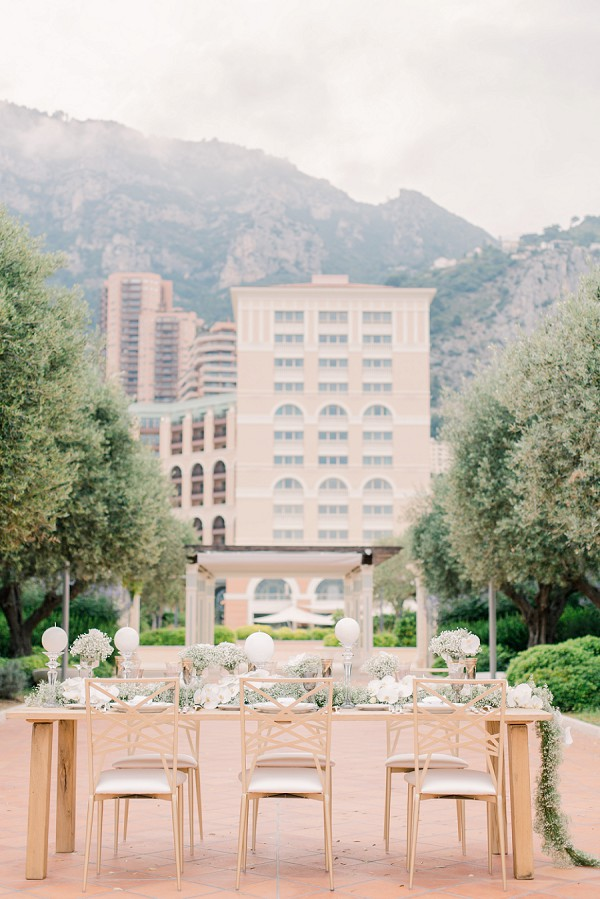 Stylish Monaco Wedding