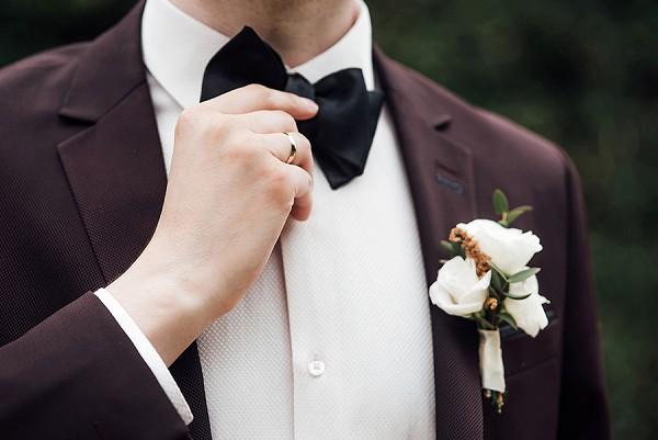 black tie russian wedding france