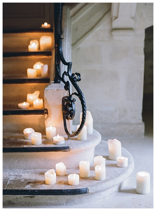 candle wedding designs