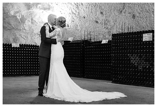 classic wedding photoshoot at the cellar