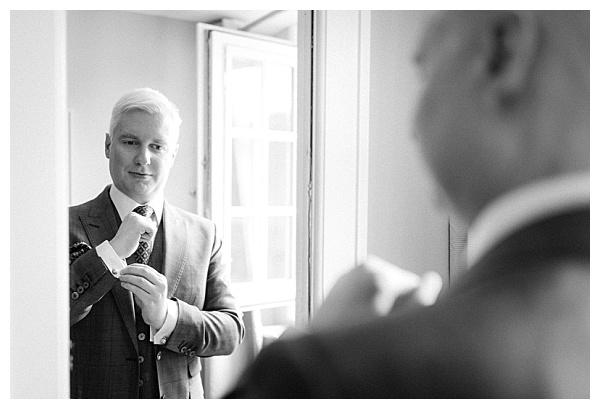 classy groom look
