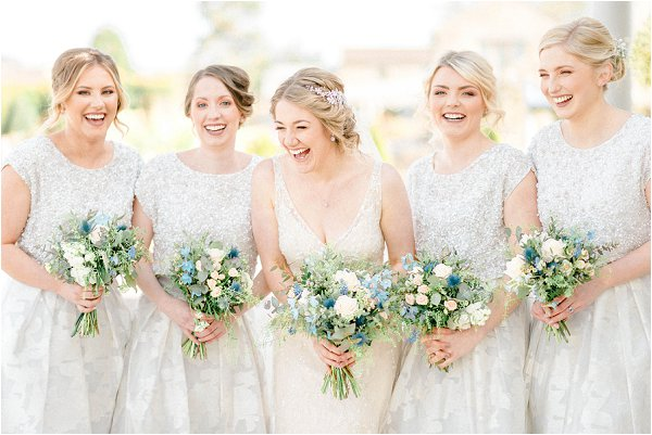 destination wedding photographer Sarah Jane Ethan, gold bridesmaid dresses
