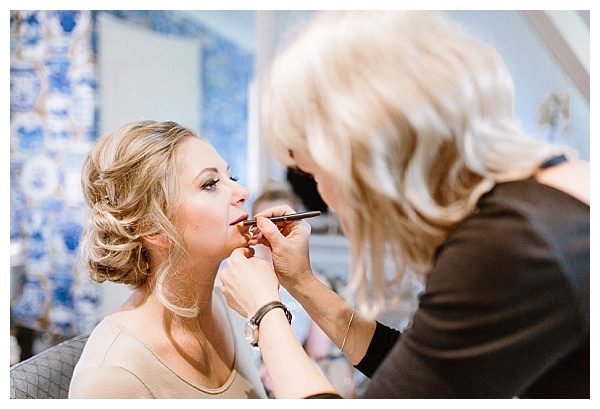 elegant make up look for the bride