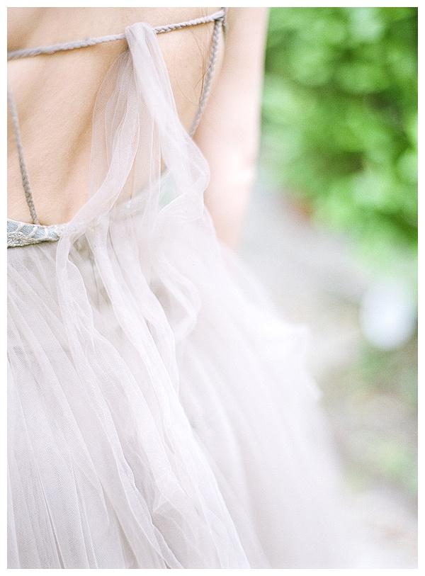 intricate wedding dress design