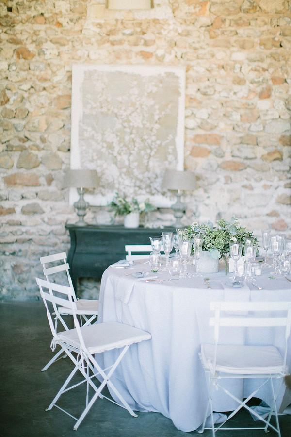 rustic provence tablescape