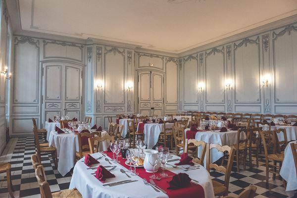 Abbaye de Valloires Dining Hall