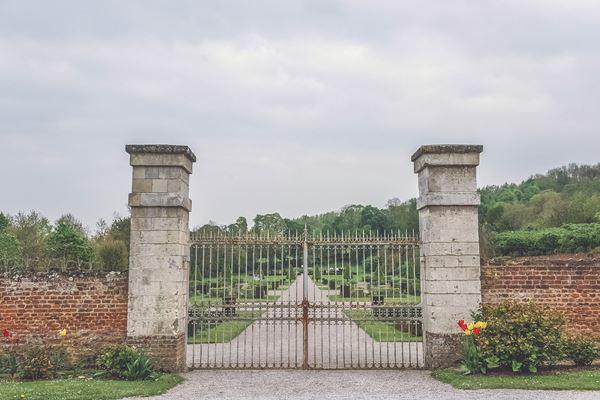 Abbaye de Valloires Main Gates