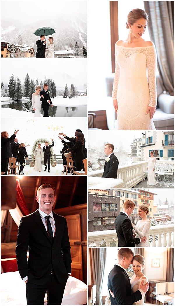 French Alps Altitude Wedding