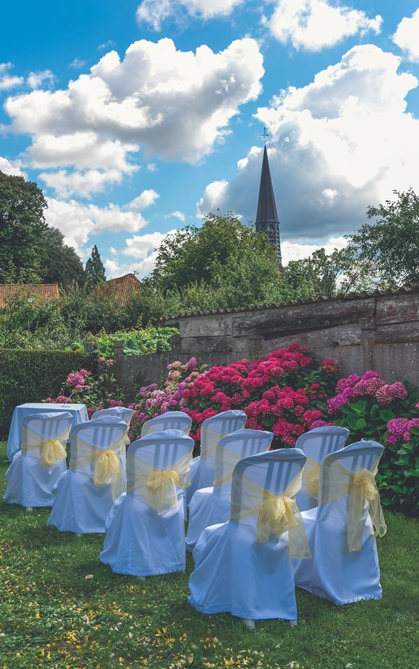 Garden Wedding in Northern France