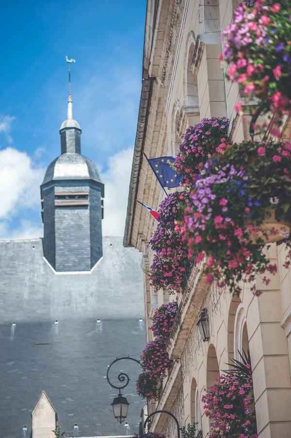 Montreuil Sur Mer Hill Top Town