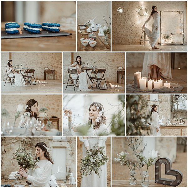 Natural Le Mans Wedding Inspiration