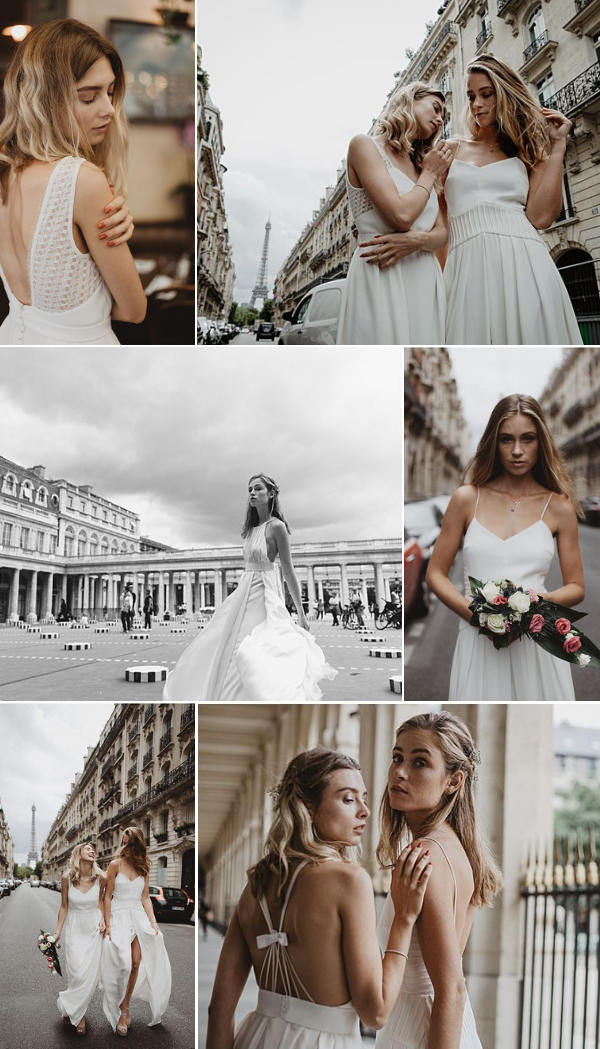 Camille Marguet Wedding Dress Paris Snapshot