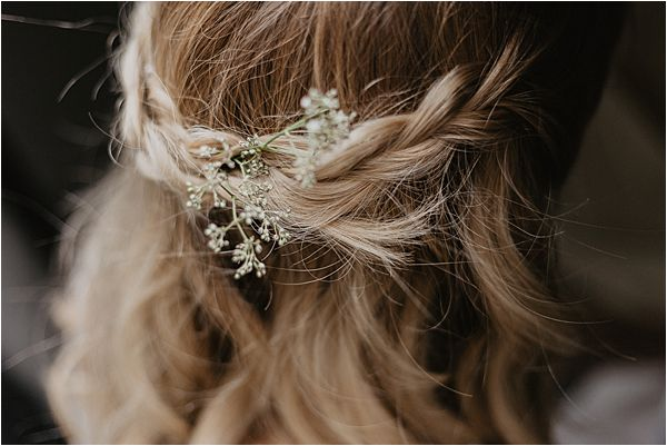 Camille Marguet Wedding Dress Hairstyle