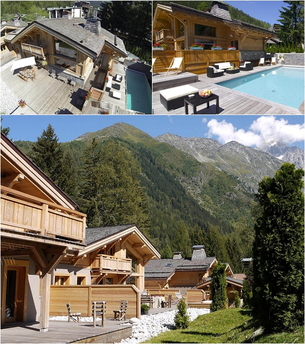Chamonix Chalet on French Wedding Style